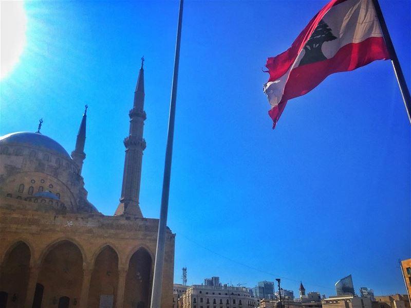 Beirut 🇱🇧 livelovelebanon ... (Martyrs' Square, Beirut)