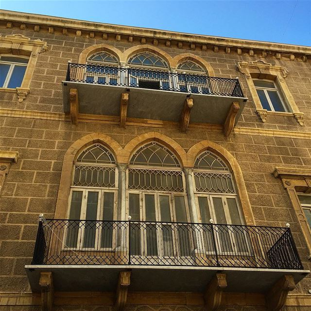A great day to walk around Achrafieh and admire whats left of our ... (Achrafieh, Lebanon)