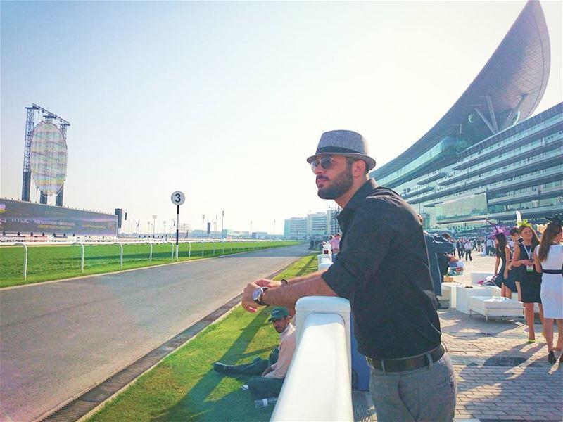 🏇🏇🏇🏇 Horse Racing dubaiworldcup discovermeydan DWC2017 mydubai... (Dubai World Cup - Meydan Racecourse, Dubai)
