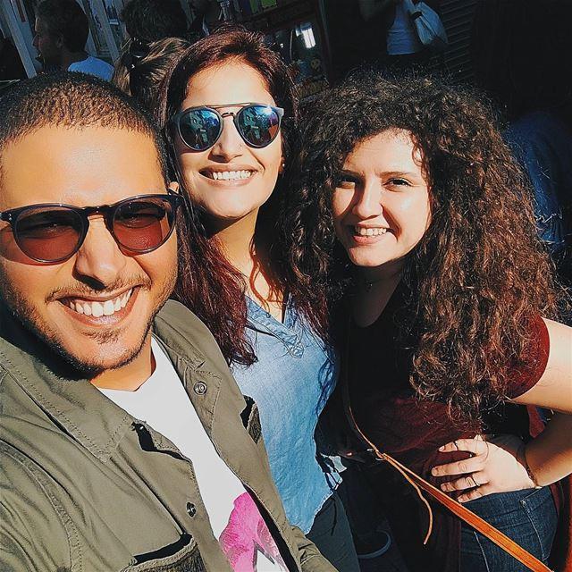 Morning 😁 Selfie Friends CUNXTSAT Achrafieh_2020 Music Event ... (Achrafieh, Lebanon)