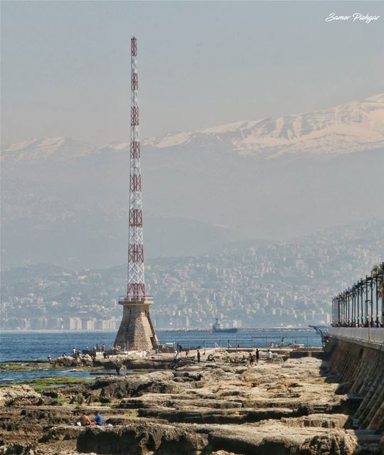 Beirut - the snowy mountain and the sea..... Lebanon Lebanese beirut...