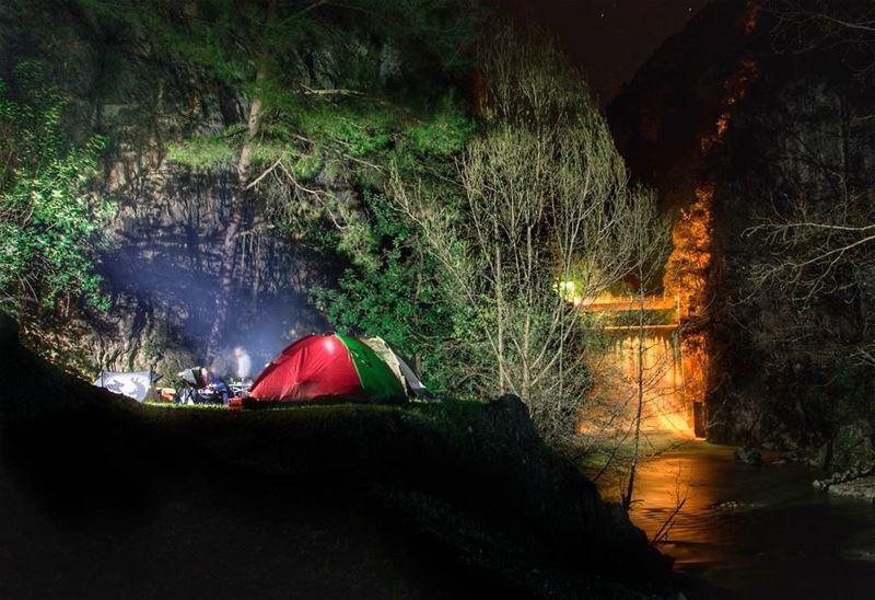camping with a view 🏕 ⛺⛺..... nikonmea_earth nikon camping camp... (Chouwen)