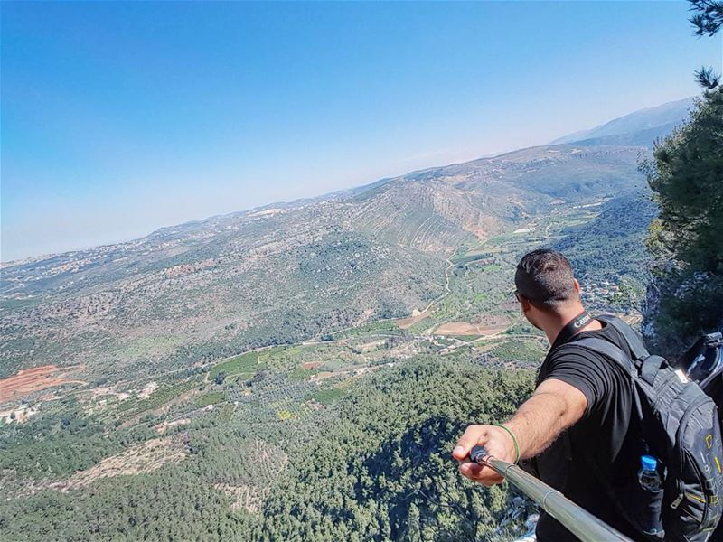 sunday hiking selfie azour southlebanon jezzine mountains valley ...