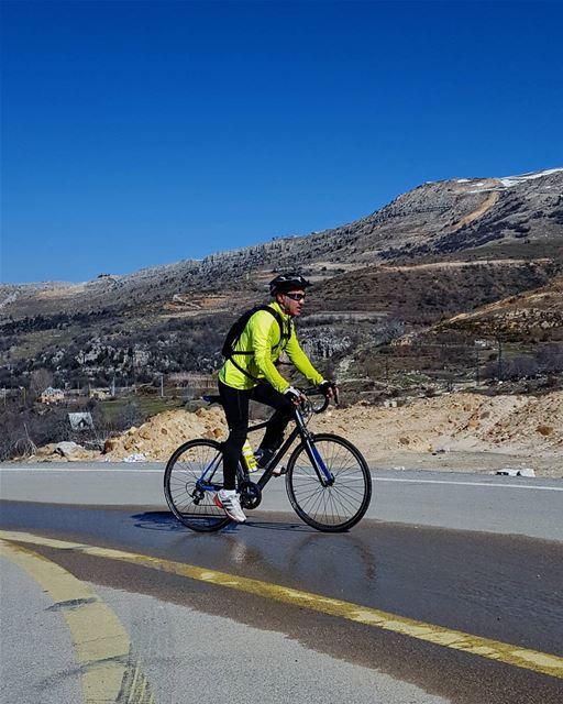 cyclinglife cycling bikingday sannine ... (Sannin, Mont-Liban, Lebanon)