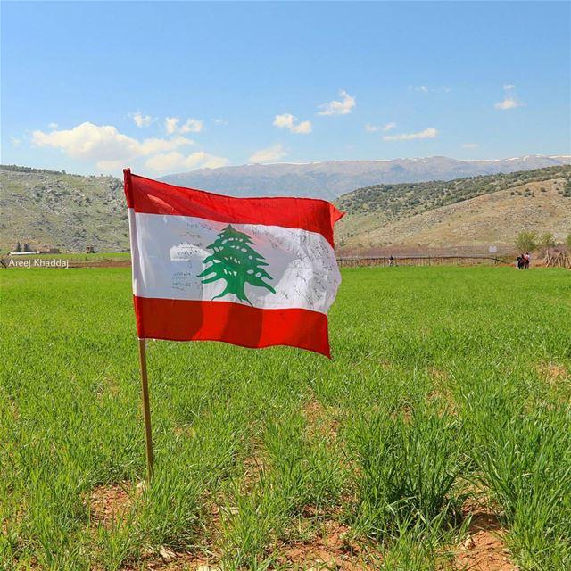 من هون ما منفل.. بهالأرض رح منضل 🇱🇧 (Kfarmechkî, Béqaa, Lebanon)