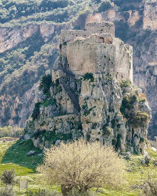 "The ""Museilaha Fort"" is a fortification situated north of Lebanon. The... (Al Batrun, Liban-Nord, Lebanon)"