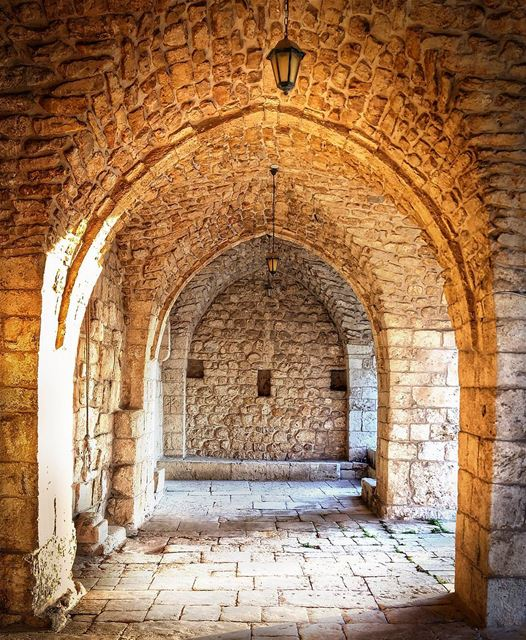 Beautiful Architecture.. Mar Nohra church 🙏 lebanon nature ... (Mar Nohra-smar Jbeil)