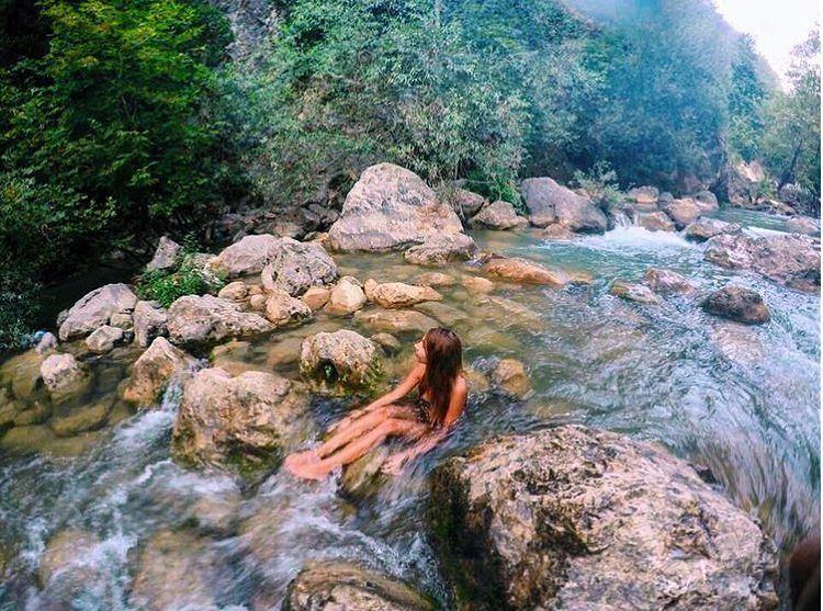 S E E K M A G I C E V E R Y D A Y ☀️🌲💦💫 Chouwen Lebanon Paradise ... (Chouène, Mont-Liban, Lebanon)