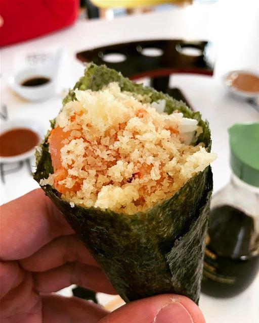 Temaki 😋🍣🍘🍢🍱🍛🍜🍲 livelovefood sushi temaki monmakiamoi ... (Mon Maki A Moi)