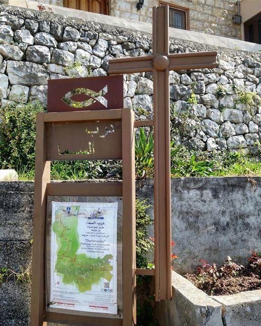 """Darbessama"" Pilgrimage Trail from Jounieh (Haret Sakhr, Sahel Alma) to... (Tarik Dareb El Sama)"