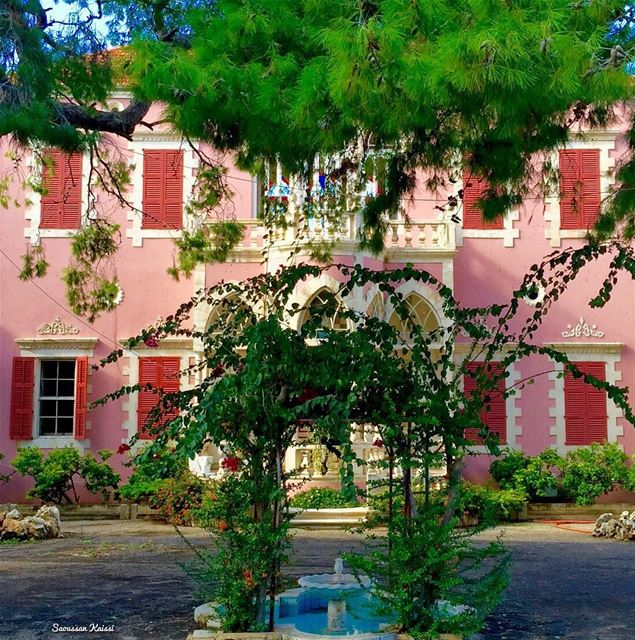 lebanonhouses old nostalgia heritage pink ...