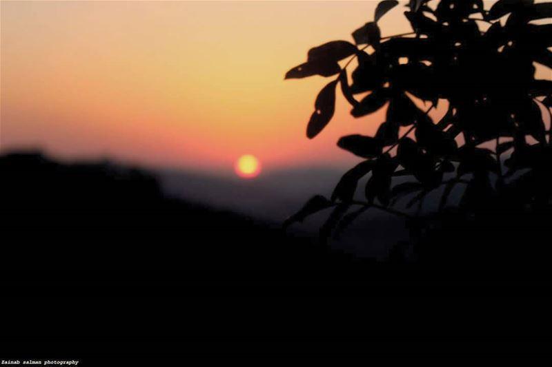 Good night❤ lebanon photography travel nature waves sunset ... (Tibnîne, Al Janub, Lebanon)