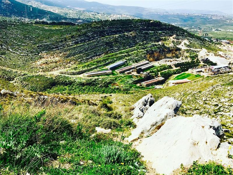 """After climbing a great hill, one only finds that there are more hills to... (Aïn Aakrîne, Liban-Nord, Lebanon)"