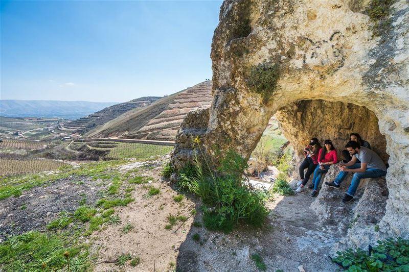 Hanging out in Ferzol lebanon stayandwander ... (Fourzol, Béqaa, Lebanon)