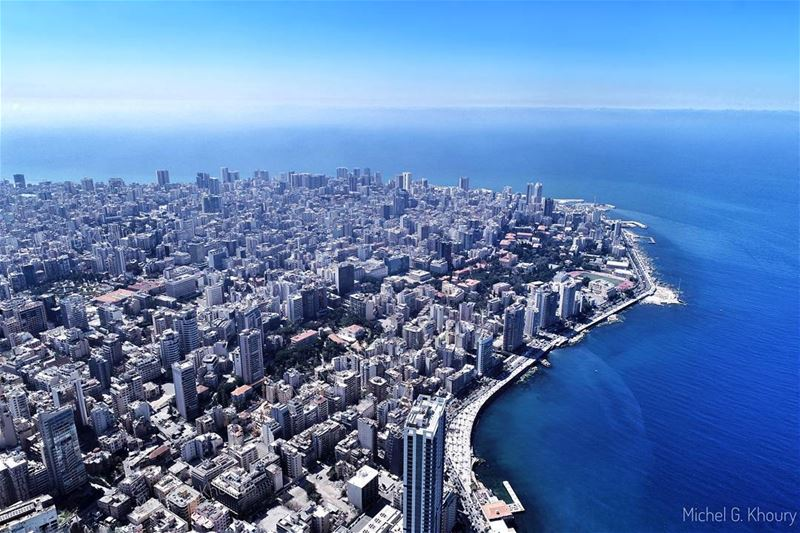 Pearl of the MEA : B E I R U T ❤ AboveLebanon Lebanon LiveLoveBeirut ...