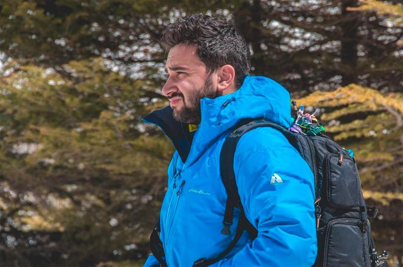 ✌🏼😁.Photo credit: @georges_raad . photography eddiebauer snowcamp ... (Beirut, Lebanon)