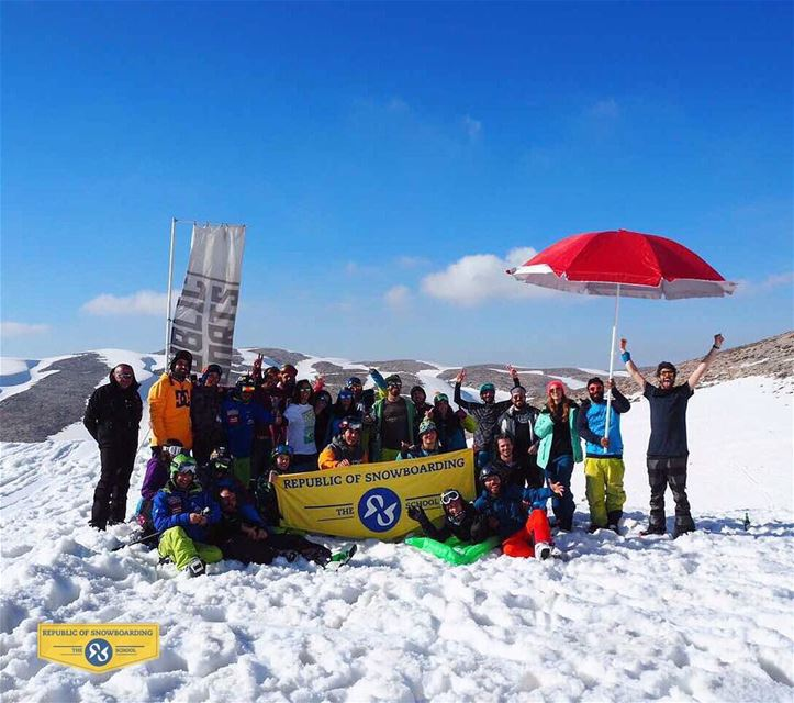 Nothing like a snow chillout with friends. Thank you to everyone who... (Mzaar Ski Resort)