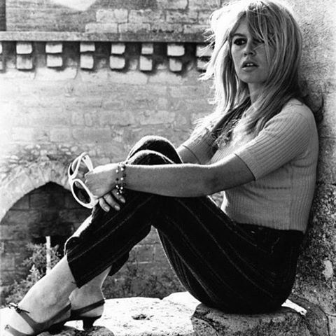 Brigitte Bardot - French actress, singer and fashion model   Byblos 1967 ....