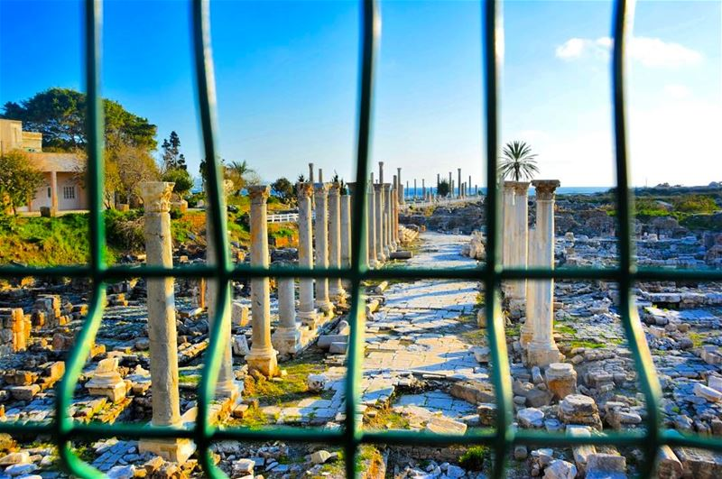 Tyr ,Lebanon insta_jezzine southlebanon tyr travelblog travel ... (Tiro)