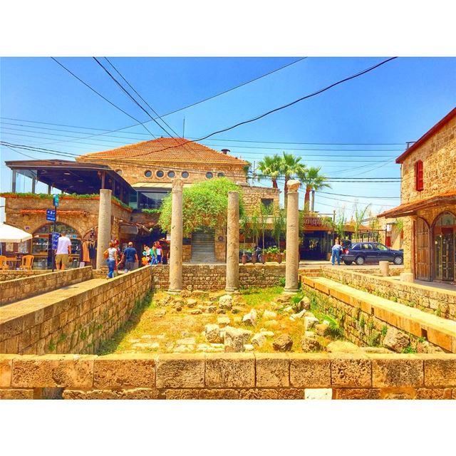 Lovely Byblos 💙🌞 jbeil byblos sunnyday ilovebyblos livelovebyblos ... (Byblos - Jbeil)