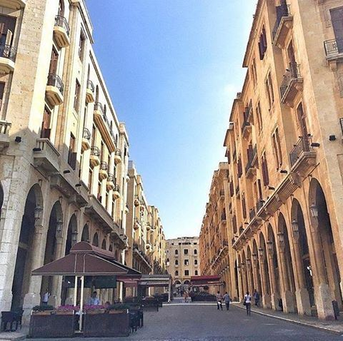 Amazing view from downtownbeirut beirut beirut❤️ Photo by @mostlyfad ... (Downtown Beirut)