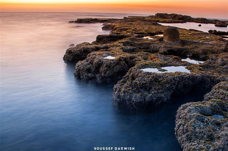sunset lebanon tyre nikond7100 nikon d7100 sea livelovetyre sour ... (Tyre, Lebanon)