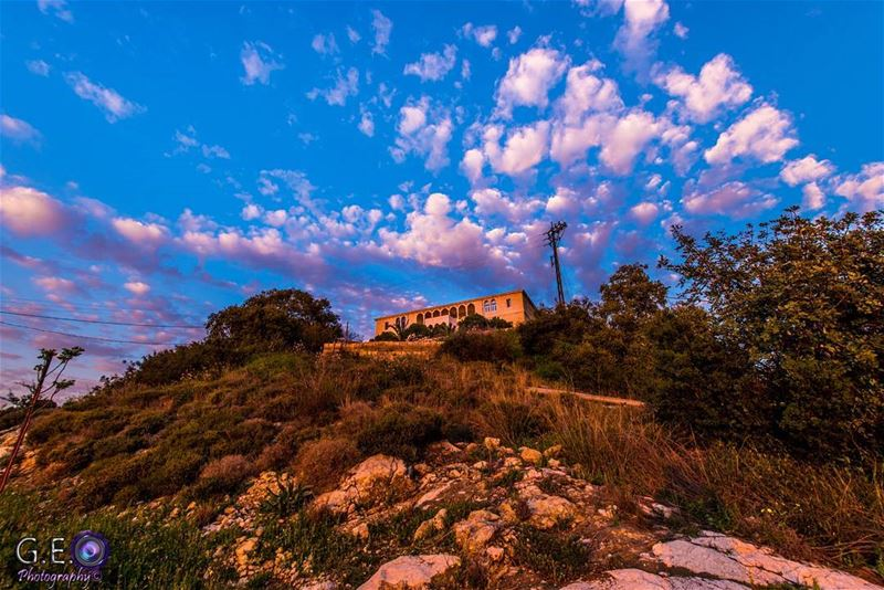 byblos clouds cloudslandscape dawn sunset church nikonlandscape ...