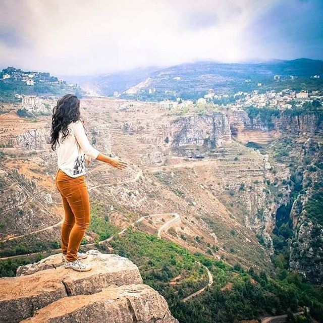 So much beauty in Lebanon's hidden gems.⚪ ⚪ ⚪ ⚪ ⚪ ⚪ ⚪ ⚪ lebanon valley... (Wadi Annoubin)