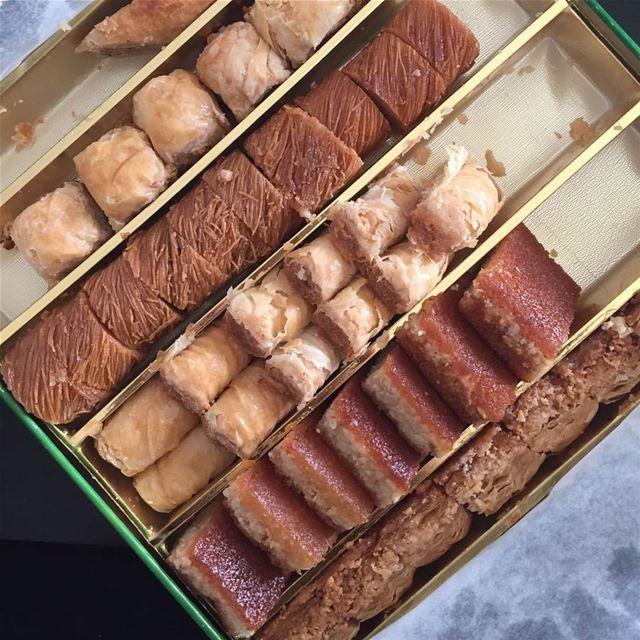 baklawa lebanesesweets amal_bohsali baklavas sweetlovers❤❤❤ sweet ...