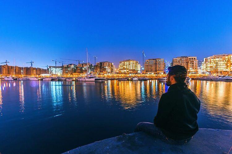 City Lights WaterfrontCityDbayeh livelovedbayeh lebanon port dbaye ... (Waterfront City)