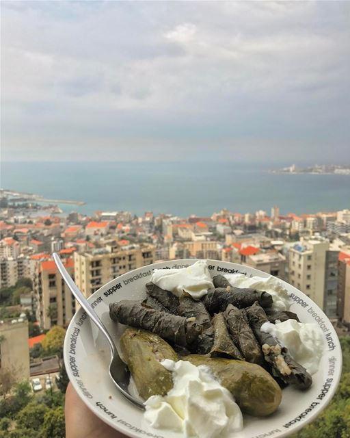 Favorite Lebanese Lunch😋 (Joünié)