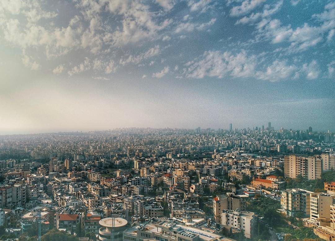 Beirut City from a @soukelakel drone perspective @uantonine ... (Souk el Akel)