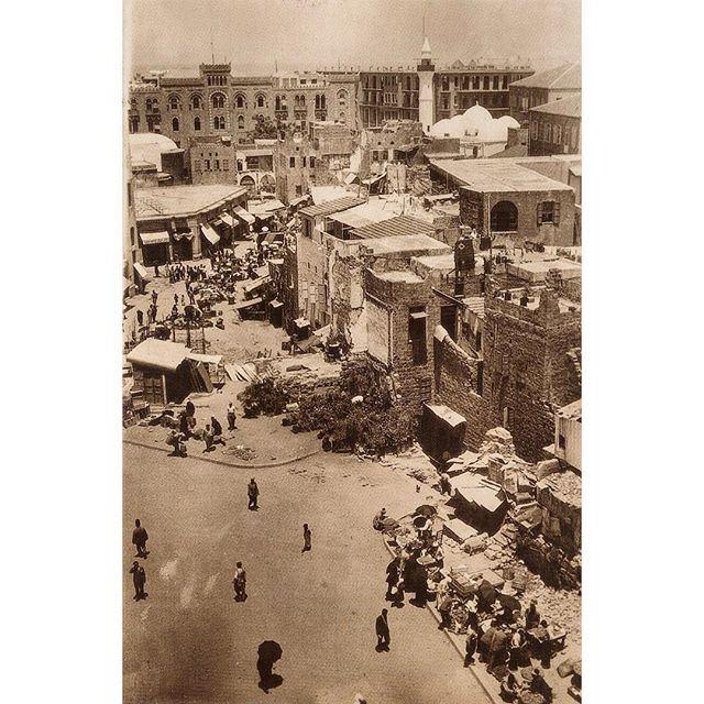 Beirut Souks 1920 .