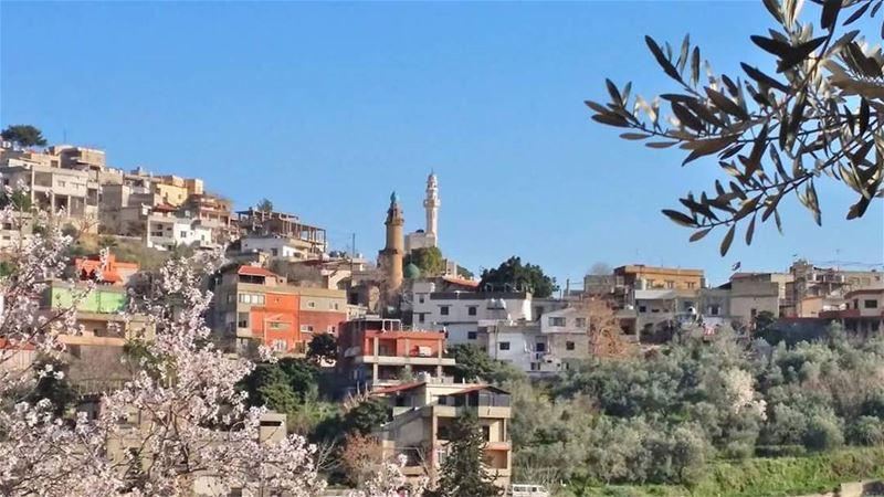 جمعة مباركة من حومين_الفوقا mosque friday lebanon southlebanon ...