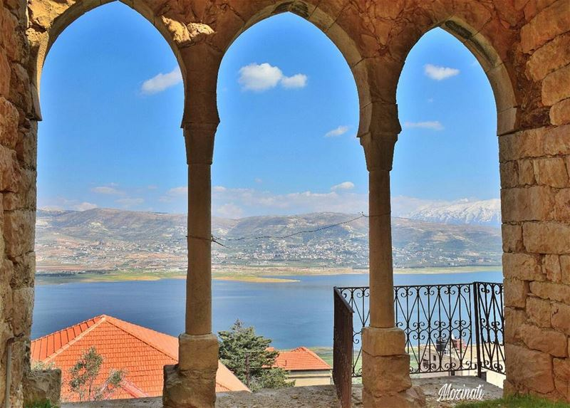 livelovebekaa livelovebeirut livelovelebanon lake ptk_lebanon... (Lake Qaraoun)