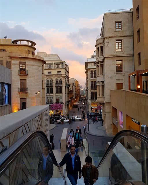 سنكون يوماً ما نريد لا الرحلة ابتدأت ولا الدرب انتهى. - محمود درويش... (Downtown Beirut)