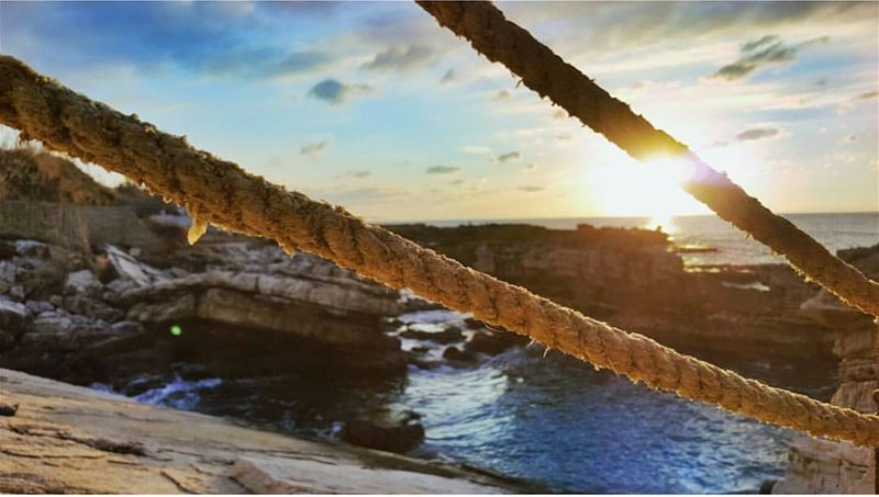 batroun kfarabida sunset mediterranean sea mediterraneansea ... (Kfarabida Batroun)