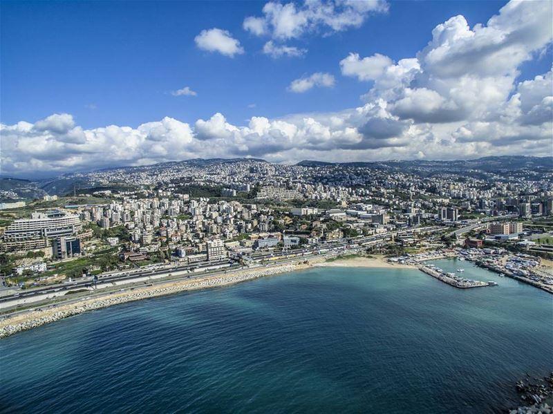 From the sea ... lebanon ig_lebanon super_lebanon livelovedbayeh ... (Dbayeh, Mont-Liban, Lebanon)