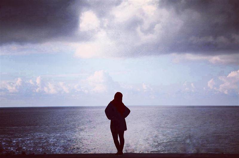 Let the sea set you free.. lebanon beirutwaterfront❤️ sea photgraphy ...