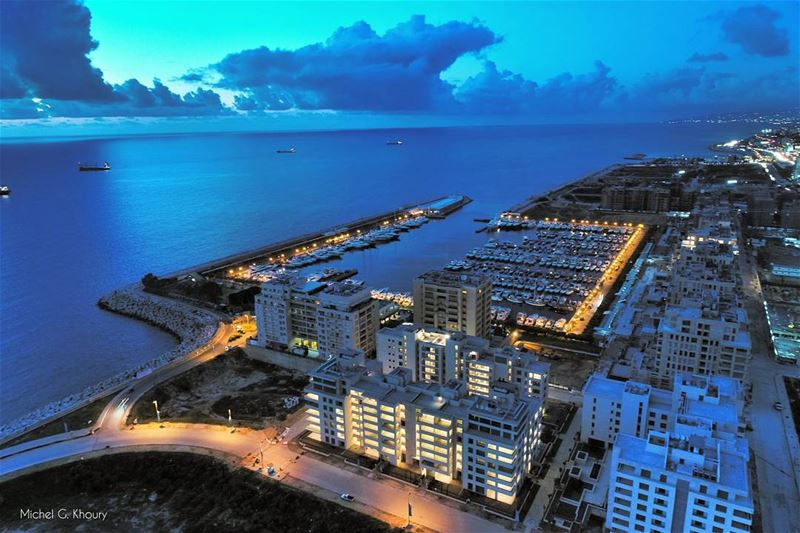 WaterfrontCityDbayeh from a new Perspective LiveLoveDbayeh AboveLebanon... (Waterfront City)