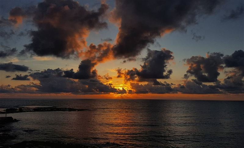 Sunsets and Horizons 🌅 (Byblos, Lebanon)