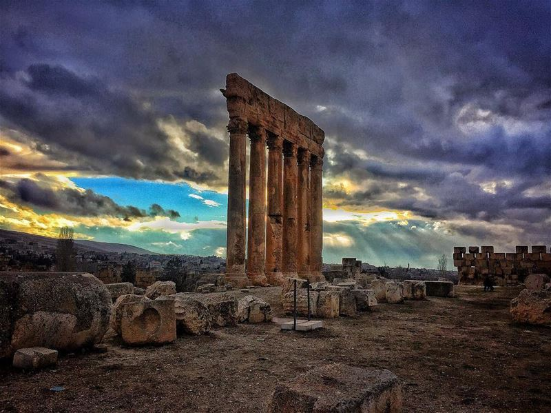 Baalbek's ruins should be named the only wonder of the world Baalbek ... (Baalbek, Lebanon)
