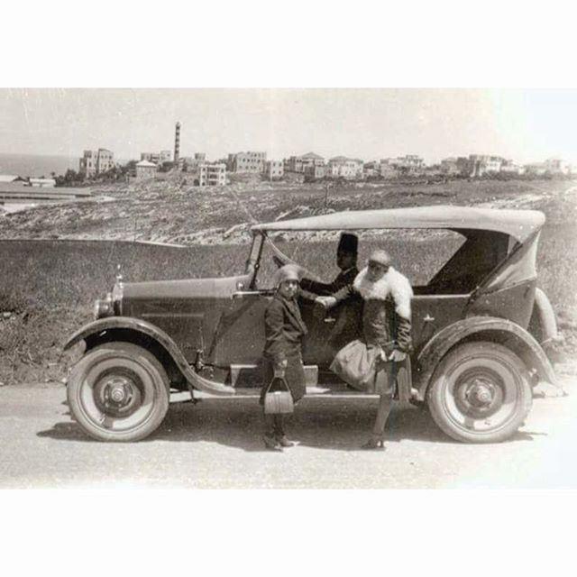 Beirut Near Al Manara In 1921 .