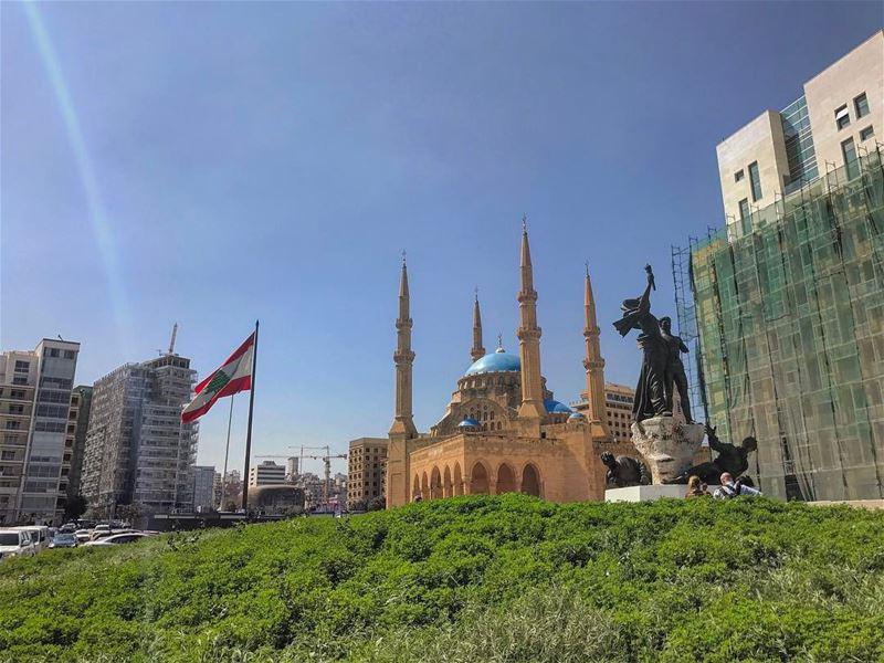 Tuesdays😎 (Plaza de los Mártires (Beirut))
