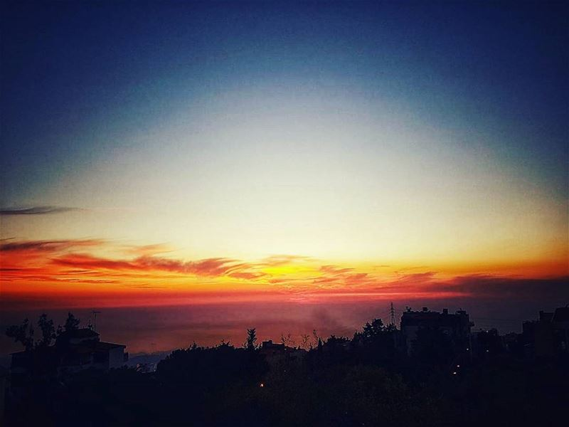 hotday tomorrow 🌝 sunsets sunset_hub sunsetporn sunset_pics ... (Ajaltoun, Mont-Liban, Lebanon)