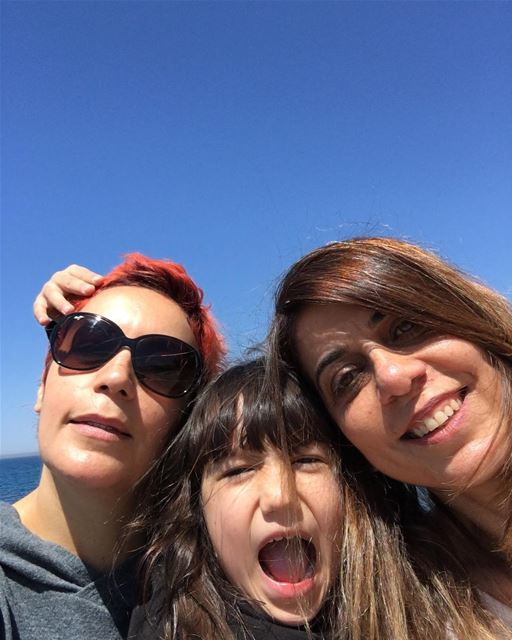 Besties in the Sun near the Sea ❤️❤️ sea sun friends love byblos ...