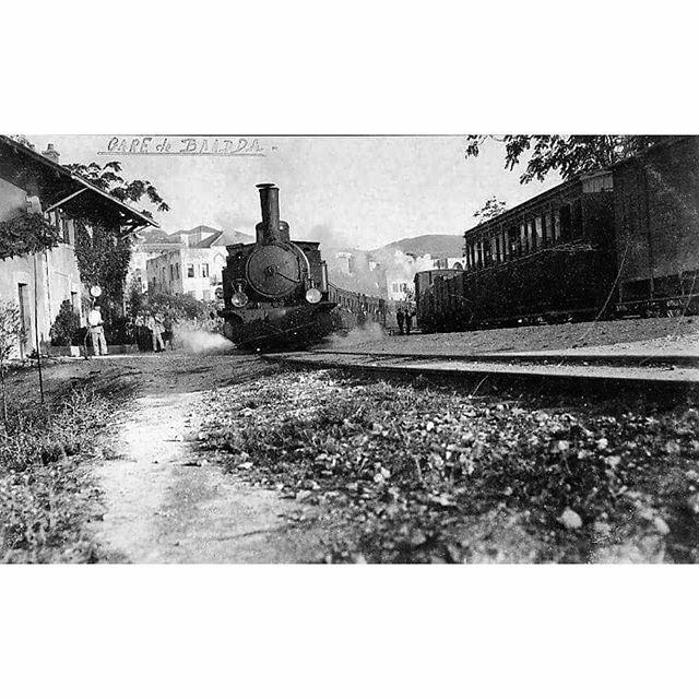Train Station Baabda In 1941 .