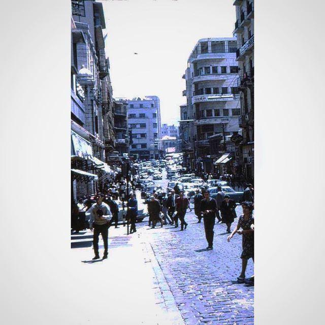 Beirut Weygand Street 1962 ( Zoom In )