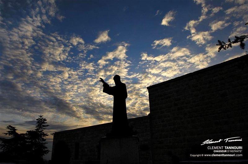 Saint Charbel Annaya 🙏🏻⠀ livelovebyblos livelovelebanon ... (Annaya - Saint Charbel.)