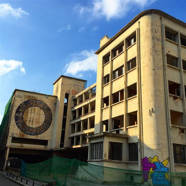 The Laziza Brewery on the verge of being demolished 😞😞😞 Beirut ... (Achrafieh - Mar Mikhael)